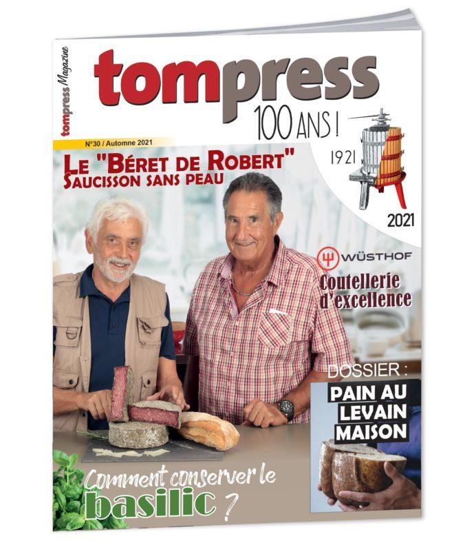 Tom Press magazine centenaire automne 2021